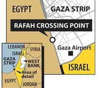 Feb 26: be there to open Rafah